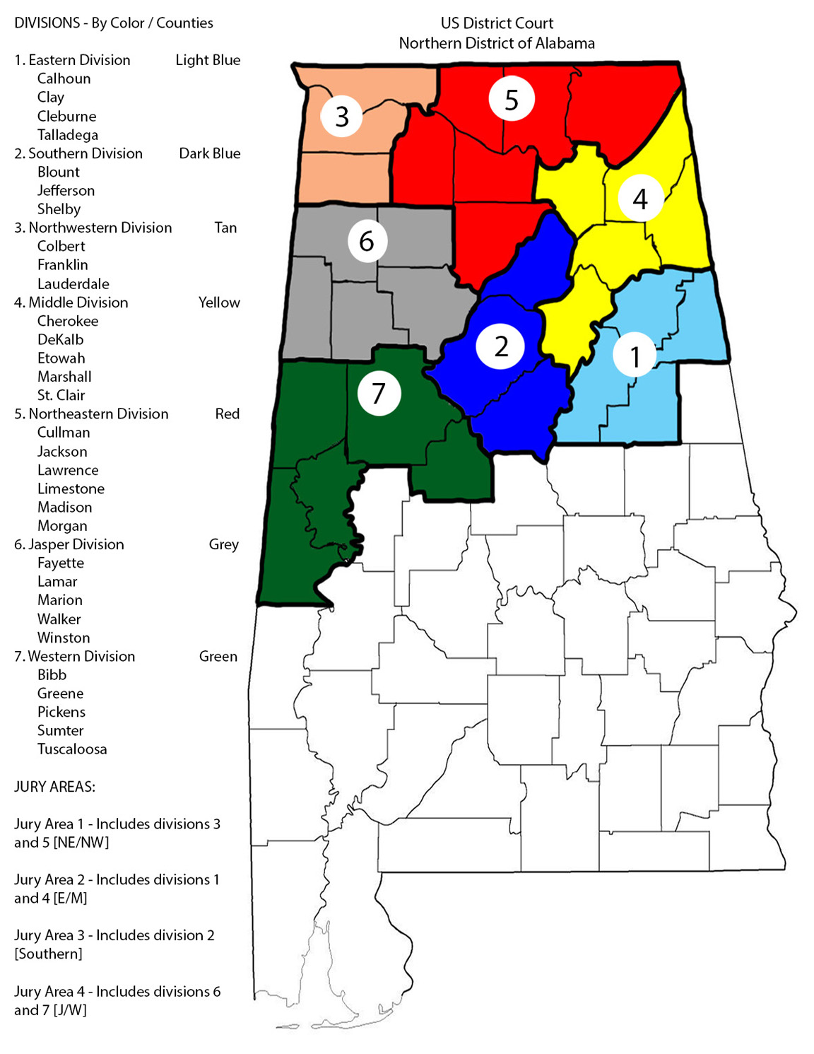 Northern District of Alabama | United States District Court